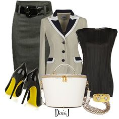 Office Look - Polyvore