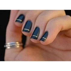 NAIL ART- FALL ON TREND ❤ liked on Polyvore
