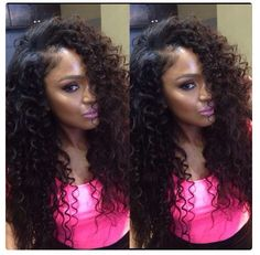 Love the fullness. Achieve this look with our Malaysian or Brazilian curl! www.ihearthairinc.com