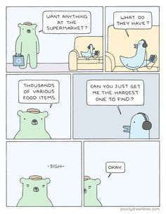 Poorly Drawn Lines – Request