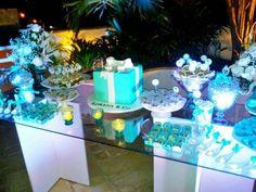 festa de 15 anos azul tiffany