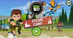 Play Ben 10 Steam Camp - HTML5 Game