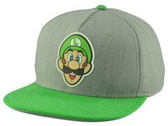 Nintendo Rubber Sonic Weld Snapback Hat