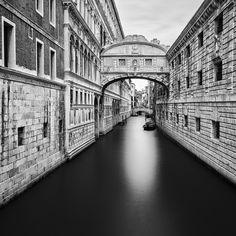 10 adembenemend mooie zwart-wit foto's van Venetië
