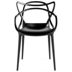 Cadeira Allegra em Polipropileno Preta
