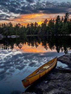 #Sunrise over the pond