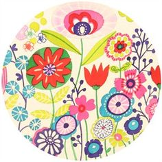 Alexander Henry, Indochine, Kaori Floral Brite-audrey bedding