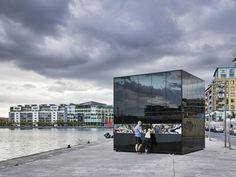 5CUBE Energy Pavilion / de Siún Scullion Architects