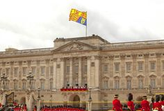 Buckingham Palace, the London residence and principal workplace of the British monarchy.
