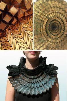 Wearable Metal Origami
