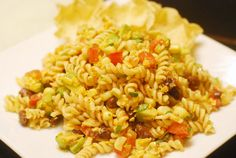 See Jane in the kitchen: Pasta Taco Salad