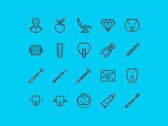 Free 20 Dental Icons #icon #icons #dental #freebies
