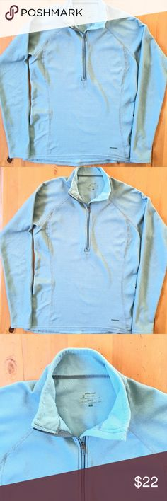 Patagonia Pullover Great condition soft comfortable zippers up front wonderful color size large light weight 29 in long 18in bust 26 in sleeve Patagonia Tops Sweatshirts & Hoodies