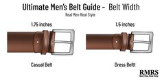 Planning to buy a belt? How do you choose the right belt size? This post is the ultimate guide to men's belts. Men's Belts, Casual, Accessories, Style, Swag, Outfits, Jewelry Accessories