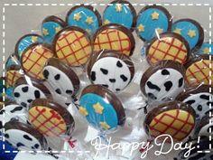 Pirulitos de Chocolate Toy Story