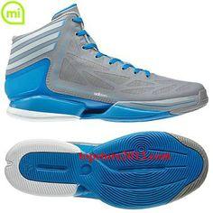 sale retailer 1331d 14ca2 Adidas Adizero Crazy Light 2.0 Shoes Aluminum-Running White (G48806) Hot  Sale