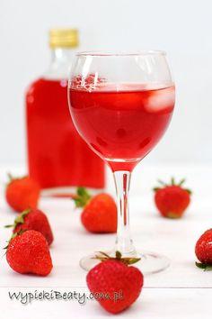 nalewka z truskawek Summer Vine, Alcoholic Drinks, Cocktails, Prosecco, Homemade, Recipes, Food, Autumn, Thermomix