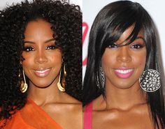 Versatile Look    Kelly Rowland has made a name for herself for rocking versatile makeup looks. It's no surprise that she'd pick a glossy lipstick for the ESSENCE Black Women in Music event and also a matte finish like the pink lipstick she wore at the Billboard Awards.