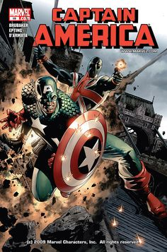 Captain America #19 by Steve Epting