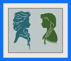 Elsa Anna cross stitch patternINC Cross Stitch by MagicStitching
