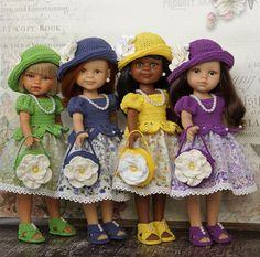 Скидка! PDF-журнал с мастер-классом по вязанию на кукол формата Paola Reina / Обучающие материалы, мастер-классы / Шопик. Продать купить куклу / Бэйбики. Куклы фото. Одежда для кукол