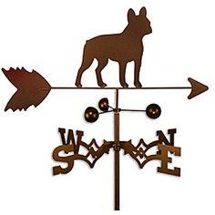 Handmade French Bulldog Dog Copper Weathervane...I want it