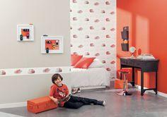 Collection : ONLY BOYS / Concept Car #Papierpeint #decoration #interieur #enfant #kids #boys #Caselio  http://www.caselio.fr