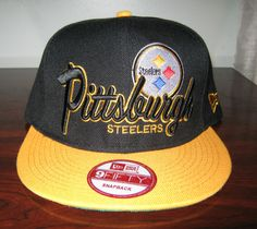 separation shoes ac0f8 d9041 Pittsburgh Steelers Snapback Hat