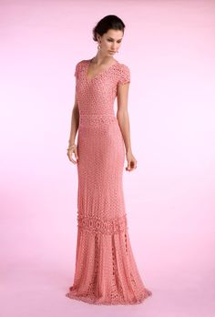 Gorgeous dress!. #inspiration_crochet_diy GB ...