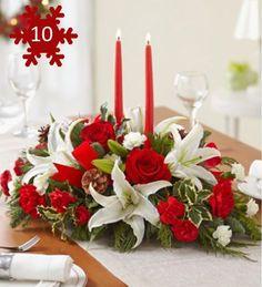 Decoração de mesa para o Natal. #christmastable #mesaarrumada