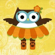ballerina owl by Lee Arthaus LoL cc: @Dra_Kleine