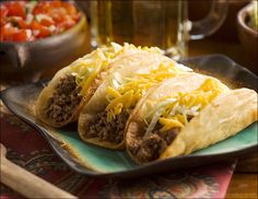 Beef Tacos with Homemade Taco Shells - Picture-Perfect Meals®Picture-Perfect Meals