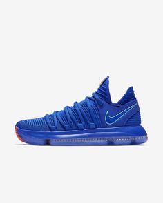 sale retailer c549e 75397 Nike Zoom KD 10  The Bay Edition Chapter (Racer Blue   Black   Total  Crimson   Light Menta)
