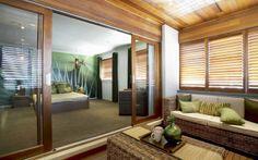 Laguna retreat and master bedroom