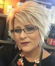 Short Hair For Women Over 60 With Glasses Short Hairstyles For