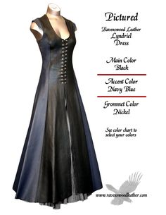 Ravenswood Lyndriel Leather Dress, really good view of the entire dress