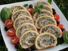 Rolada serowa z indykiem i szpinakiem Sushi, Ethnic Recipes, Lasagna, Sushi Rolls