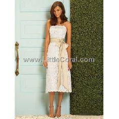 lace brides maids dresses