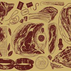 Alice Patullo | Illustrator | Central Illustration Agency #branding #tradition #tradiotionnal #screenprint #brand #website #product #food