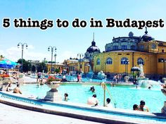 5 things to do in Budapest. These are my personal top five things to do in Budapest Hungary. Enjoying the beautiful architecture, indulging the tasty traditional Hungarian food and relaxing in the thermal baths and pools.