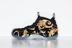 Latest information about Supreme x Nike Air Foamposite One Black. More information about Supreme x Nike Air Foamposite One Black shoes including release dates, prices and more. Nike Free Shoes, Nike Shoes, Roshe Shoes, Nike Roshe, Me Too Shoes, Men's Shoes, Gold Shoes, Shoes Men, Nike Foamposite