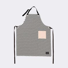 Ferm Living Black Stripe Apron Schort The SHOP Herentals