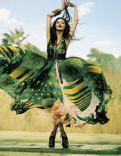 Panache, a flamboyant twirl of happy…