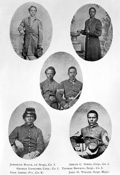 54th Massachusetts Regiment; the first official all African-American unit organized during the Civil War. | Florida Memory