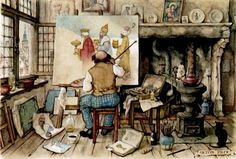 Anton Franciscus Pieck (1895 - 1986, Dutch painter and graphic artist)