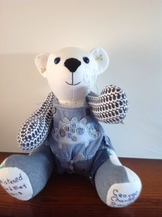Christening bear