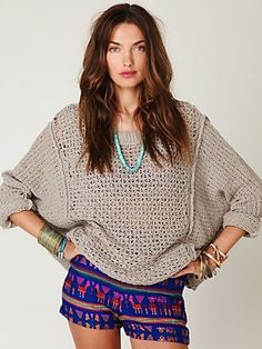 Kenny Guadalajara High Waisted Short at Free People Clothing Boutique - StyleSays