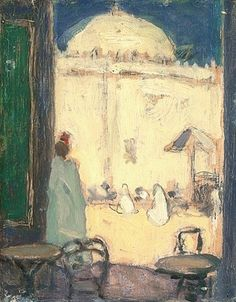 The Athenaeum - The Mosque, Algiers (James Wilson Morrice - ) Canadian Painters, Canadian Artists, James Wilson, Urban Painting, Galerie D'art, Post Impressionism, French Art, Large Art, Art Reproductions