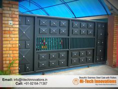 Designer Gate 2015-12-05 House Main Door Design, Gate Wall Design, Home Gate Design, Grill Gate Design, Steel Gate Design, Front Gate Design, Main Gate Design, Sliding Door Design, Sliding Gate