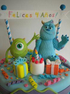 Torta Monster Inc by Pastelera Bakery Shop, via Flickr